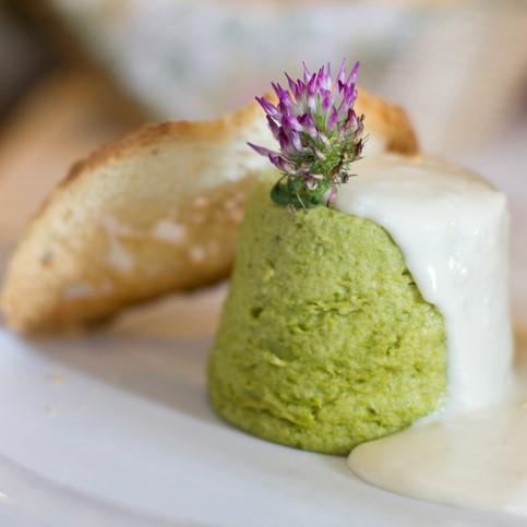 La tecnologia in cucina vapore 1 flan asparagi ok